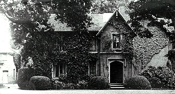The Vicarage about 1900 [Z50/134/13]